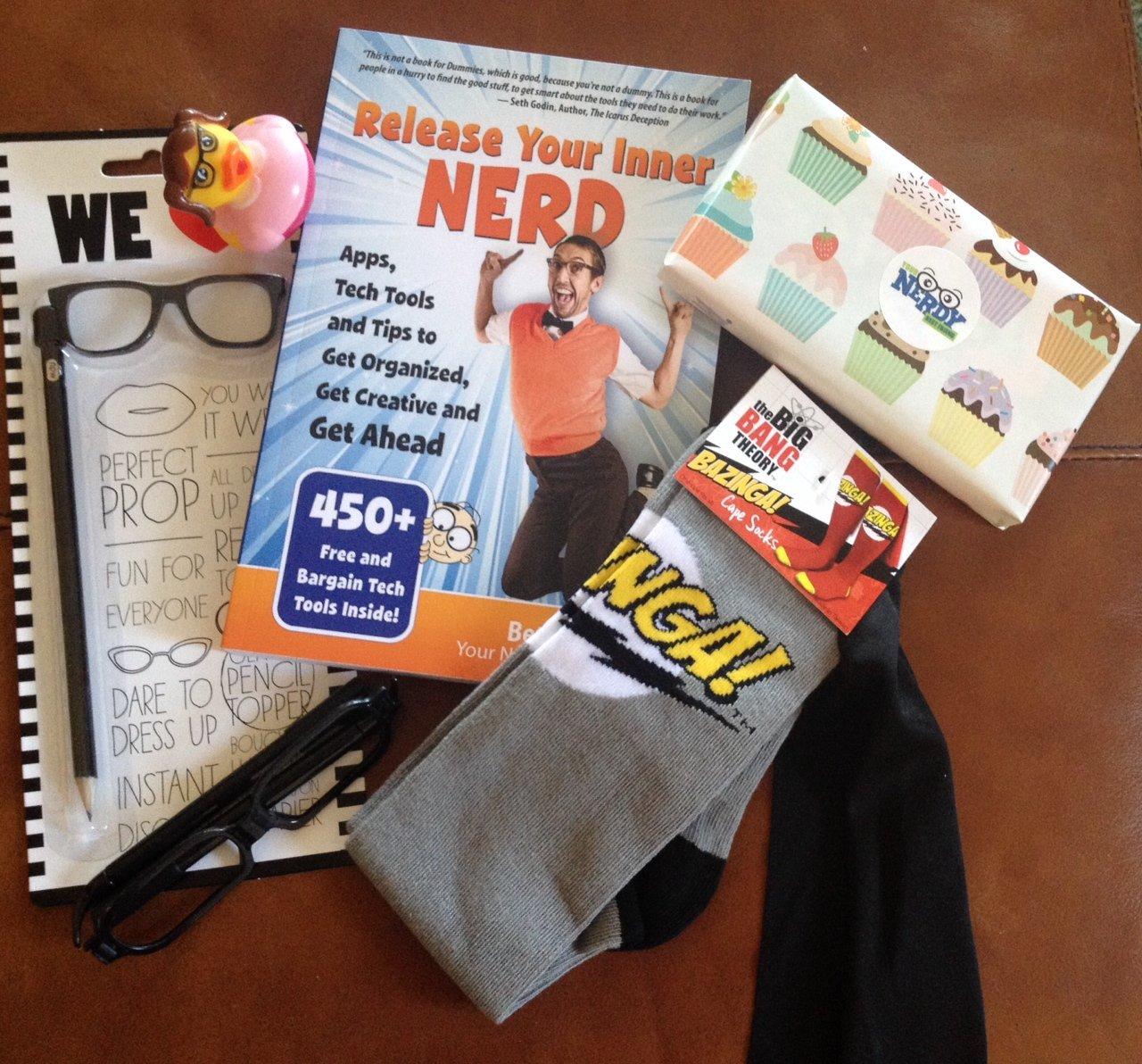 nerdy prize pack