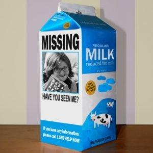 Beth Z milk carton