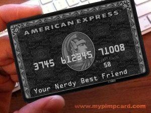 nerdy credit card