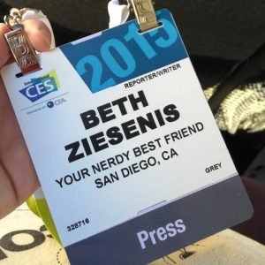 Beth Z at CES