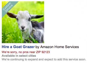 goat grazer