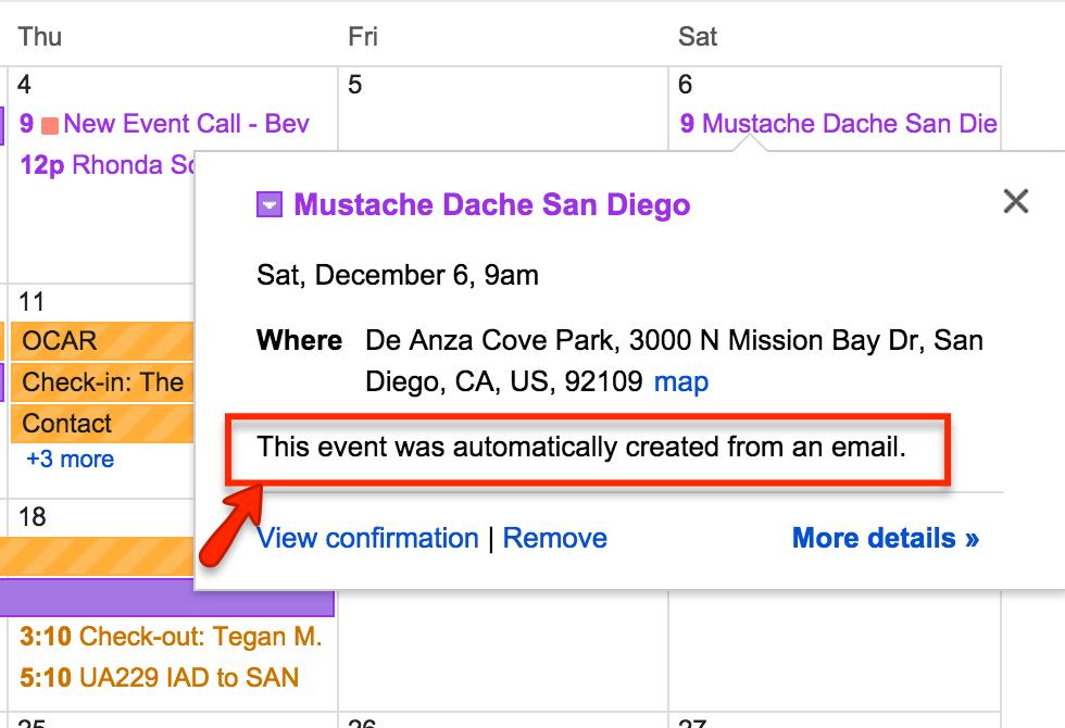 Google Calendar is creepier